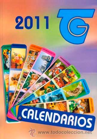 CATALOGO DE CALENDARIOS SERIE BO DEL 2011 (Coleccionismo - Calendarios)