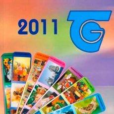 Coleccionismo Calendarios: CATALOGO DE CALENDARIOS SERIE BO DEL 2011. Lote 34334968