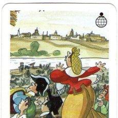 Coleccionismo Calendarios: 1498- FOURNIER 1989- CAJA PROVINCIAL DE VALLADOLID-MINGOTE. Lote 34526248