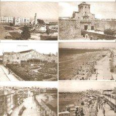 Coleccionismo Calendarios: CALENDARIOS DE BOLSILLOS DIFERENTES DE CADIZ ANTIGUO , 7 UNIDADES. Lote 34593129