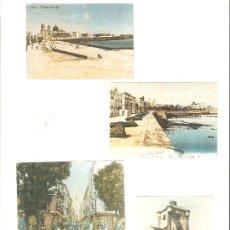 Coleccionismo Calendarios: CALENDARIOS DE BOLSILLOS DIFERENTES DE CADIZ ANTIGUO , 4 UNIDADES. Lote 34593195