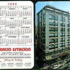 Coleccionismo Calendarios: CALENDARIOS BOLSILLO – SERVICIO ESTACION 1998. Lote 34665167