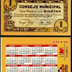 Calendarios Bolsillo - REPLEGA 2010