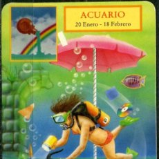 Coleccionismo Calendarios: CALENDARIOS DE BOLSILLO - HOROSCOPOS ACUARIO 1995. Lote 112268970