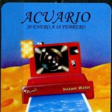 Coleccionismo Calendarios: CALENDARIOS DE BOLSILLO - HOROSCOPOS ACUARIO 2009. Lote 34686691