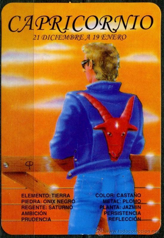 CALENDARIOS DE BOLSILLO - HOROSCOPOS CAPRICORNIO 2009 (Coleccionismo - Calendarios)