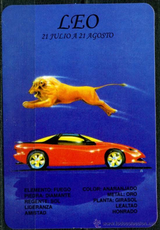 CALENDARIOS DE BOLSILLO - HOROSCOPOS LEO 2009 (Coleccionismo - Calendarios)