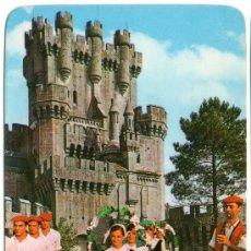 Coleccionismo Calendarios: CALENDARIO - CASTILLO DE BUTRÓN - 1980. Lote 34738988