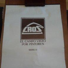 Coleccionismo Calendarios: CALENDARIO CROS DEL 83 CON 5 LAMINAS DE PINTURA UNA POR TRIMESTRE Y OTRA FINAL . Lote 35064524