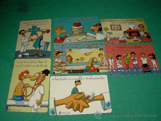 LOTE DE CALENDARIOS 2007 (Coleccionismo - Calendarios)
