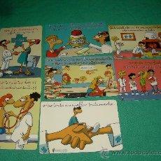 Coleccionismo Calendarios: LOTE DE CALENDARIOS 2007. Lote 35067213