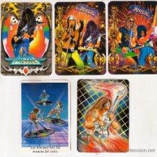 Coleccionismo Calendarios: -45690 5 CALENDARIOS DIBUJOS MUSICA ROCK, AÑO 1995 Y 2005, CON PUBLICIDAD, PRECIOSOS DIBUJOS. Lote 35193110