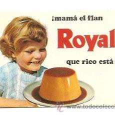 Coleccionismo Calendarios: CALENDARIO BOLSILLO FLAN ROYAL – AÑO 1970. Lote 35193515