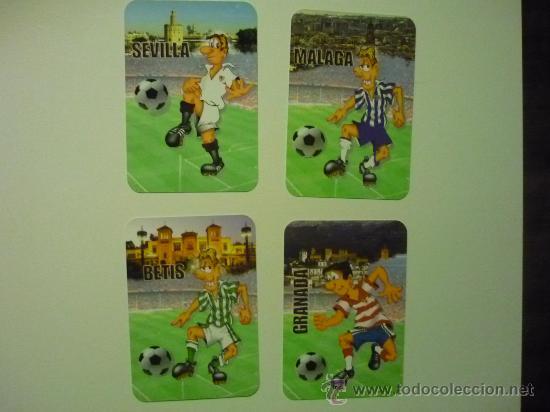 LOTE CALENDARIOS FUTBOL 2013 EQUIPOS ANDALUCES (Coleccionismo - Calendarios)