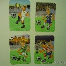 Coleccionismo Calendarios: LOTE CALENDARIOS FUTBOL 2013 EQUIPOS ANDALUCES . Lote 35223227