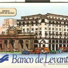 Coleccionismo Calendarios: CALENDARIO BANCO DE LEVANTE 1982. Lote 211624240