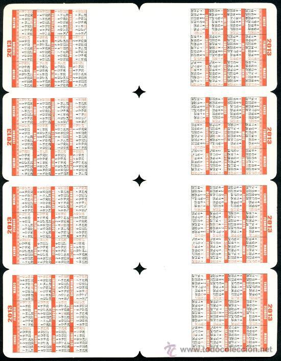 Coleccionismo Calendarios: REVERSO - Foto 13 - 112139024