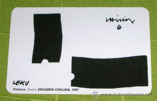 CALENDARIO KUTXA 2005 . EDUARDO CHILLIDA (Coleccionismo - Calendarios)