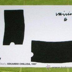 Coleccionismo Calendarios: CALENDARIO KUTXA 2005 . EDUARDO CHILLIDA . Lote 35623635