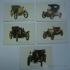 Coleccionismo Calendarios: LOTE DE 5 CALENDARIOS AÑO 1972 - COCHES ANTIGUOS - AUTO ESCUELA BURGALESA - BURGOS - CALENDARIO. Lote 35673309
