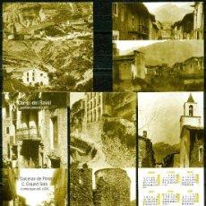 Coleccionismo Calendarios: 9 CALENDARIOS BAGA 2006 (CATALÁN) . Lote 40393412