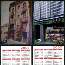 Coleccionismo Calendarios: 2 CALENDARIOS BOLSILLO - IGUALADA 2007. Lote 35861888