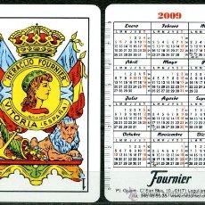 Coleccionismo Calendarios - Calendarios Bolsillo - NAIPES HERACLIO FOURNIER 2009 - 166560838