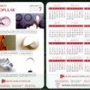 Coleccionismo Calendarios: CALENDARIOS BOLSILLO - BANCO POPULAR 2007. Lote 36050479