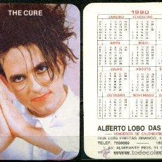 Coleccionismo Calendarios: CALENDARIOS BOLSILLO PORTUGUES - THE CURE 1990. Lote 36051224