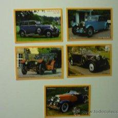 Coleccionismo Calendarios: LOTE CALENDARIOS COCHES .- 2011. Lote 36080532