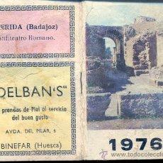 Coleccionismo Calendarios: CALENDARIO 1976. LIBRITO HOJAS.. Lote 36127824