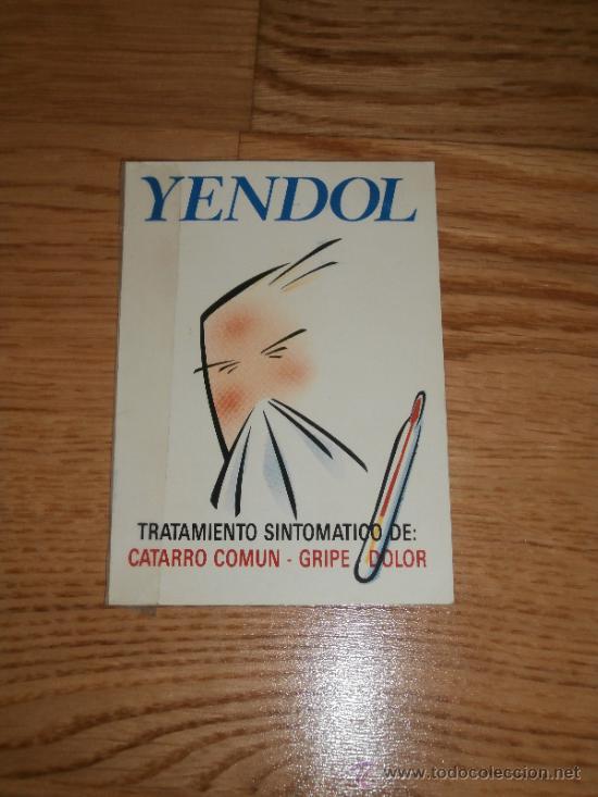 CALENDARIO DE BOLSILLO / MEDICAMENTO YENDOL / GRUPO FAES (1994) (Coleccionismo - Calendarios)
