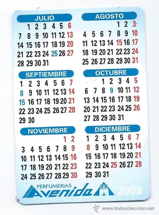 Calendario 2008.4500 Calendario 2008 Perfumerias Avenida