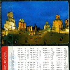 Coleccionismo Calendarios: CALENDARIOS BOLSILLO - CAIXA D'ESTALVIS DE CATALUNYA 1997. Lote 112069847