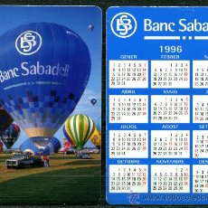 Coleccionismo Calendarios: CALENDARIOS BOLSILLO - BANC DE SABADELL 1996 CAT.. Lote 112069659