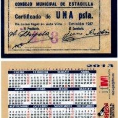Calendarios Bolsillo - REPLEGA 2013