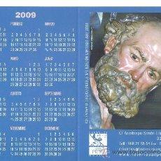 Coleccionismo Calendarios: CALENDARIO LOTERIAS SAN PEDRO 2009 (DOBLE). Lote 36528447