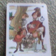Coleccionismo Calendarios: CALENDARIO FOURNIER 1987 CAJA MADRID ILUSTRACION MINGOTE . Lote 36747717