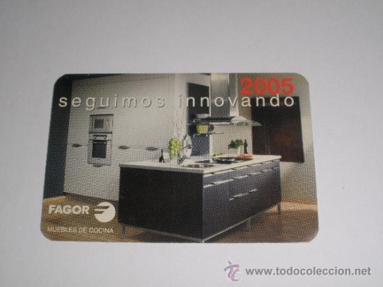 calendario 2005 - fagor. muebles de cocina. ele - Comprar ...