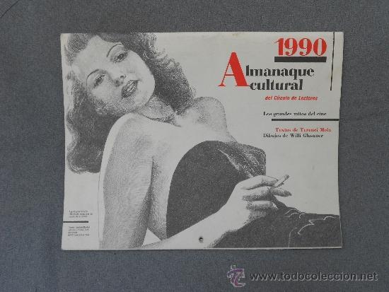 ALMANAQUE CULTURAL DE 1990 (Coleccionismo - Calendarios)