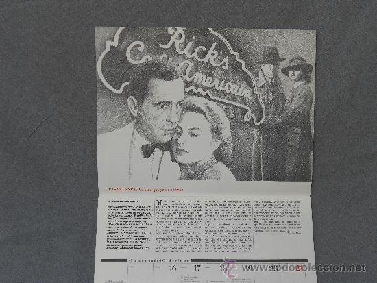 Coleccionismo Calendarios: ALMANAQUE CULTURAL DE 1990 - Foto 2 - 36992965