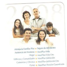 Coleccionismo Calendarios: CALENDARIOS CALENDARIO AÑO 2008. Lote 37182264