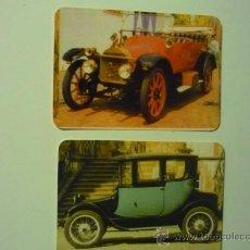 Coleccionismo Calendarios: LOTE CALENDARIOS COCHES ANTIGUOS -1990 EXTRANJEROS. Lote 37241144