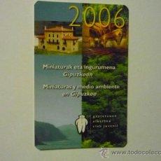 Coleccionismo Calendarios: CALENDARIO CAJAS Y BANCOS KUTXA 2006. Lote 37241259