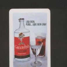 Coleccionismo Calendarios: CALENDARIO DE BOLSILLO- GREEN FISH- FOURNIER- AÑO 1968. Lote 37474006