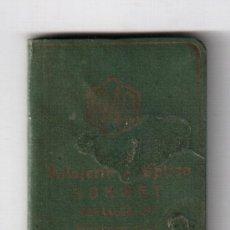 Coleccionismo Calendarios: CALENDARIO 1949 Y NOTAS RELOJERIA OPTICA GORNET DE LOGROÑO, MEDIDAS 6 X 3,4 CM.. Lote 37251074