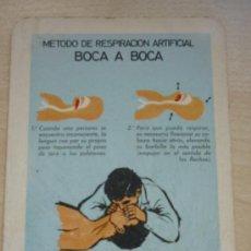 Coleccionismo Calendarios: CALENDARIO DE BOLSILLO FOURNIER AÑO 1968 COMISIÓN DE SEGURIDAD EN LA INDUSTRIA SIDERÚRGICA. Lote 37328624
