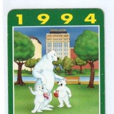 Coleccionismo Calendarios: CALENDARIO FOURNIER 1994, NUEVO. Lote 37371105