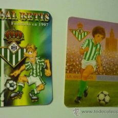 Coleccionismo Calendarios: LOTE CALENDARIOS REAL BETIS -FUTBOL 1993-2006. Lote 38110632