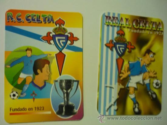 LOTE CALENDARIOS FUTBOL REAL CELTA 2000-2006 (Coleccionismo - Calendarios)
